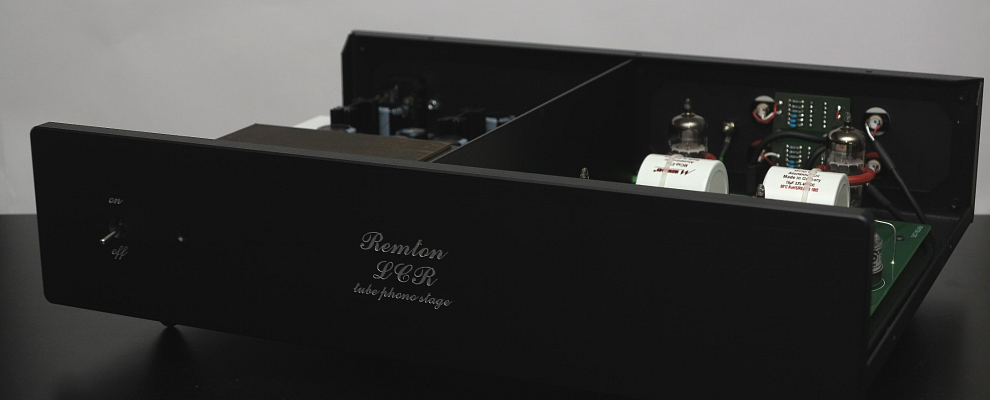 Remton LCR Tube Phono Preamlifier